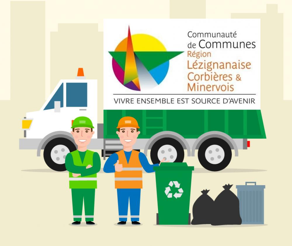 Nouveaux passages pour les ramassages des ordures ménagères